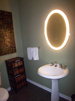 1235 George St Chicago IL - Powder Room